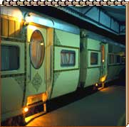 Tour on Palace on Wheels