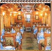 Palace on Wheels Cuisine